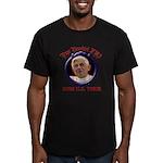 popebenedictustour08 Men's Fitted T-Shirt (dar
