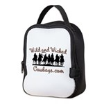 Wild and Wicked Neoprene Lunch Bag