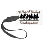 Wild and Wicked Luggage Tag