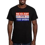 reelectclientno9gov4 Men's Fitted T-Shirt (dar