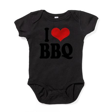 ilovebbqblk.png Baby Bodysuit