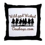 Wild and Wicked Throw Pillow