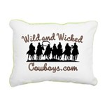 Wild and Wicked Rectangular Canvas Pillow