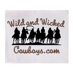 Wild and Wicked Throw Blanket