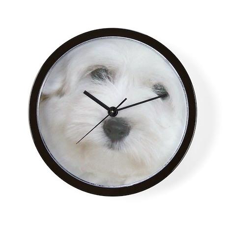Coton de Tulear Wall Clock