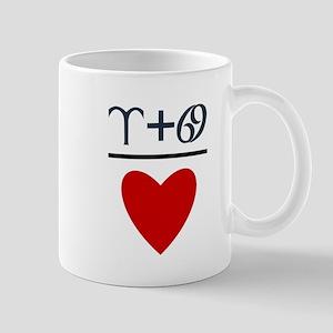 Aries + Cancer = Love Mug