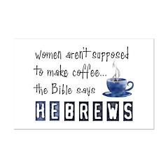 Bible Says Hebrews Posters