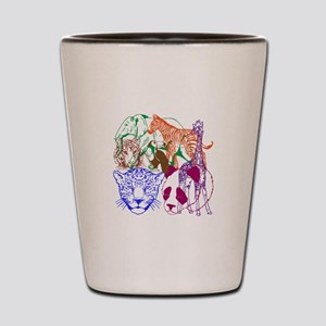 Jungle Beings Shot Glass