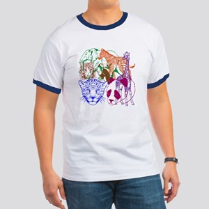 Jungle Beings Ringer T