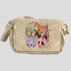 Jungle Beings Messenger Bag