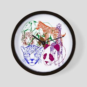Jungle Beings Wall Clock