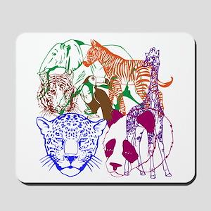 Jungle Beings Mousepad