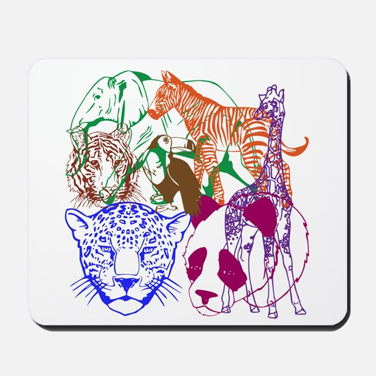 Jungle Beings Mousepad