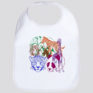 Jungle Beings Bib