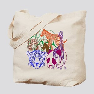Jungle Beings Tote Bag