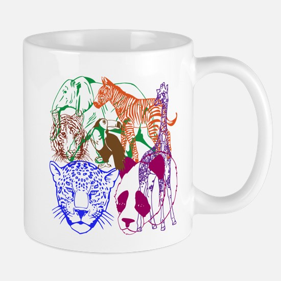 Jungle Beings Mug