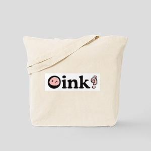 Oink! Tote Bag