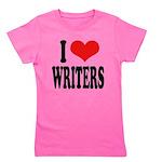 ilovewritersblk Girl's Tee