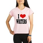 ilovewritersblk Performance Dry T-Shirt