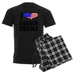 ilovebarackobamablk Men's Dark Pajamas
