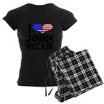 ilovejohnmccainblk Women's Dark Pajamas