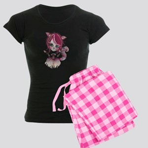Cheshire Kitty Women's Dark Pajamas
