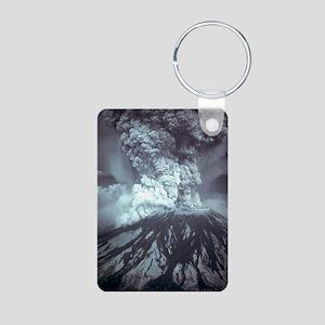 Mount St Helens Volcano Keychains