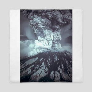 Mount St Helens Volcano Queen Duvet