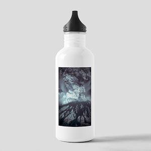 Mount St Helens Volcano Water Bottle