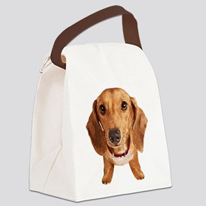 Dachshund002 Canvas Lunch Bag