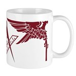 Masonic Eagles over square Mug