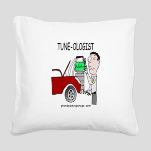 Tune - Ologist Square Canvas Pillow