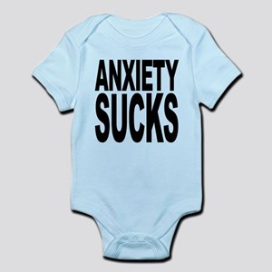 anxietysucks Infant Bodysuit