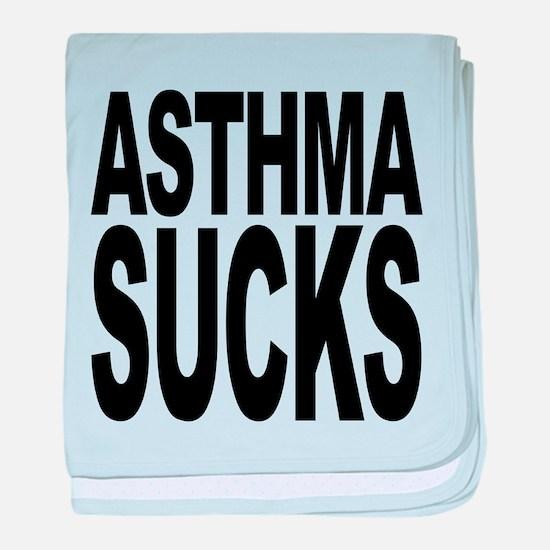 asthmasucks.png baby blanket