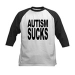 autismsucks Kids Baseball Jersey
