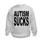 autismsucks Kids Sweatshirt