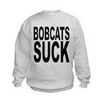 bobcatssuck.png Kids Sweatshirt