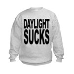 daylightsucks.png Kids Sweatshirt