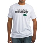 Trust Me I'm a Cheerleader Fitted T-Shirt