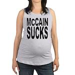 mccainsucksblk Maternity Tank Top