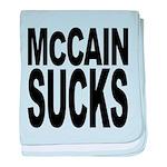 mccainsucksblk baby blanket