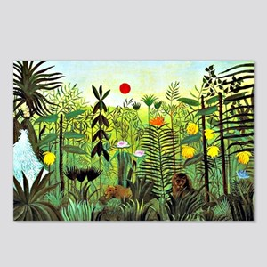 Exotic Landscape with Lio Postcards (Package of 8)