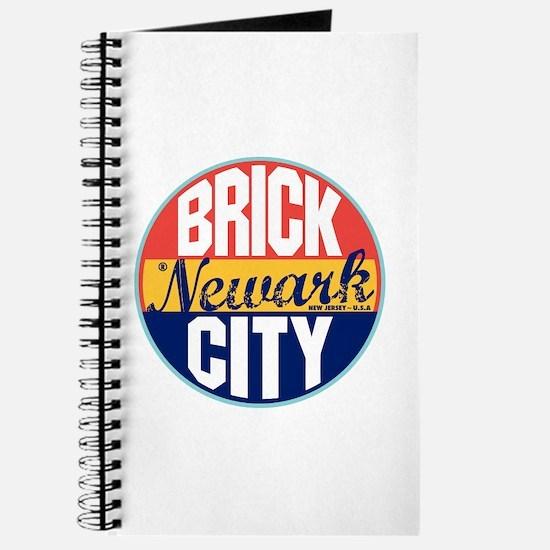 Newark Vintage Label Journal
