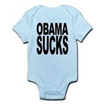 obamasucksblk Infant Bodysuit