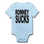 romneysucksblk Infant Bodysuit