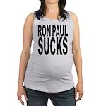 ronpaulsucksblk Maternity Tank Top
