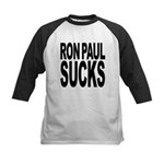 ronpaulsucksblk Kids Baseball Jersey