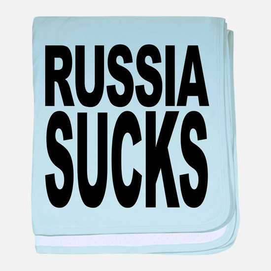 russiasucks.png baby blanket