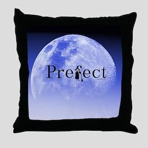 Prefect - Blue Moon Throw Pillow