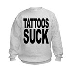 tattoossuck.png Kids Sweatshirt